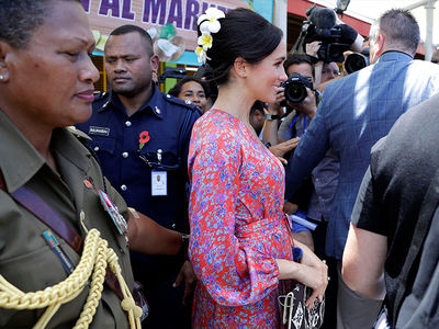 Meghan Markle Whisked Away in Fiji Over Security Concerns
