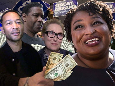 Stacey Abrams Banking on Legend, Washington, Streep to Be First Female Black Governor