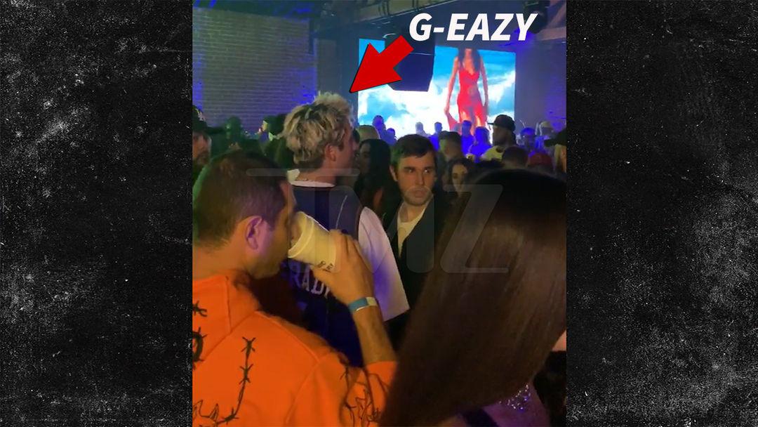 a7334a2df2 G-Eazy Leaves Drake s Party in L.A. Solo After Latest Halsey Split ...