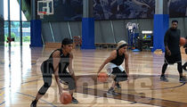 Gonzalez Twins Gunning For WNBA, Training Every Day