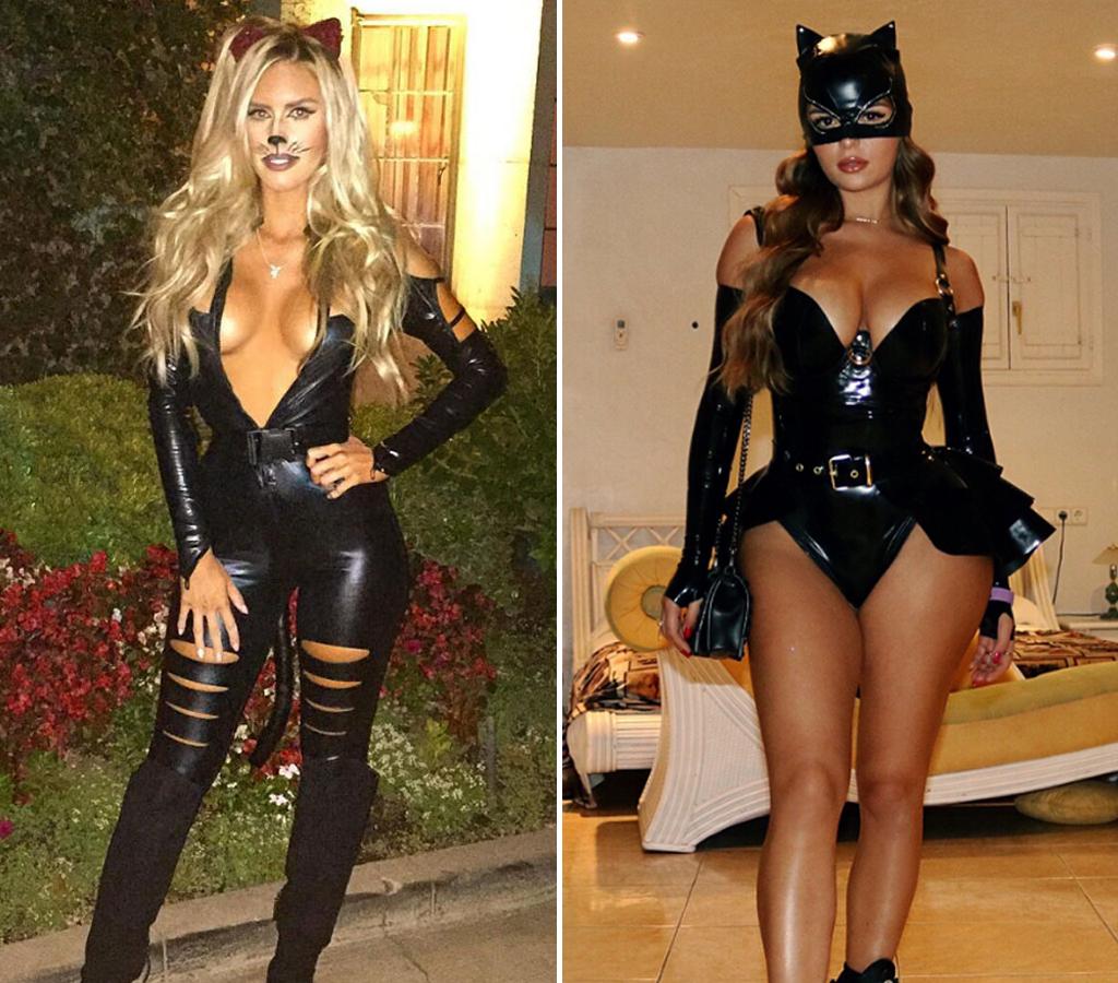 Kayla Rae Lochte (27) vs. Demi Rose (23) -- Black Cat Edition