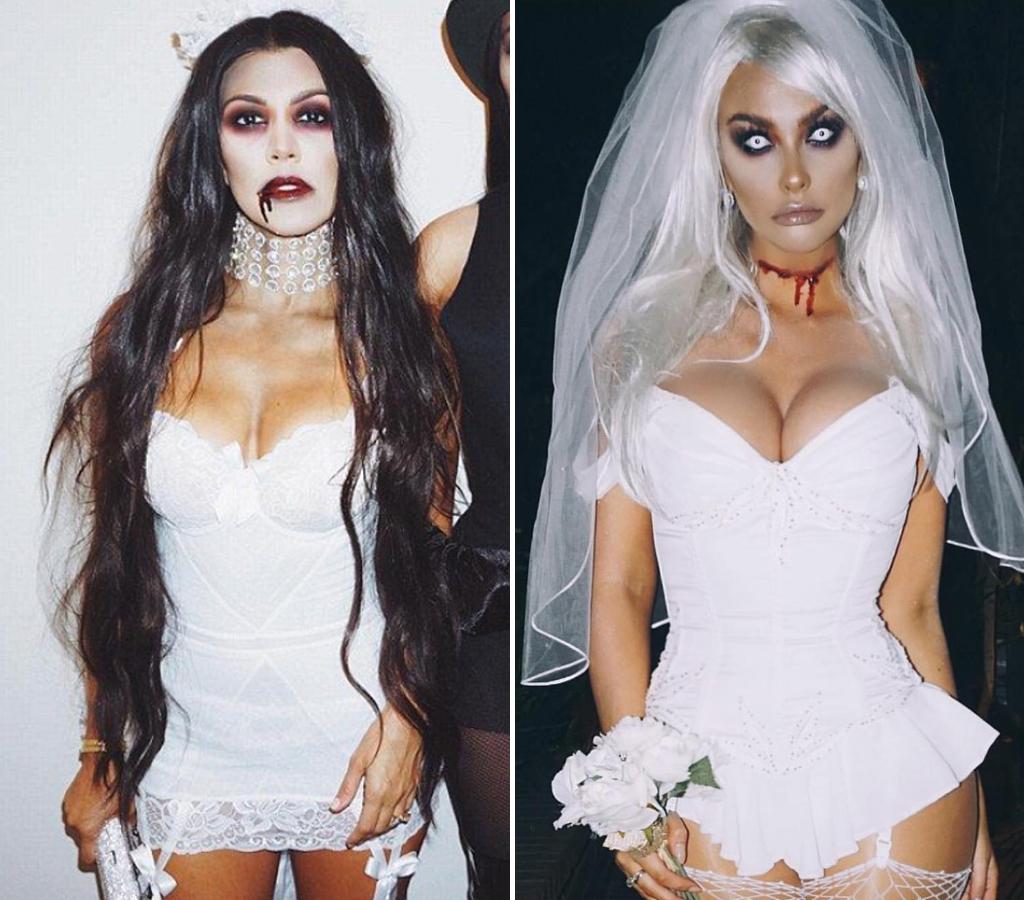 Kourtney Kardashian (39) vs. Emily Sears (33) -- Bride Edition