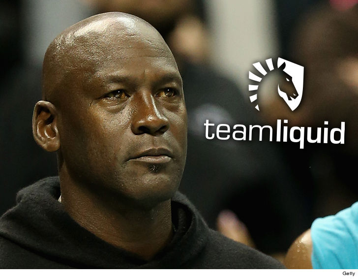 Basketball legend Michael Jordan invests in eSports franchise