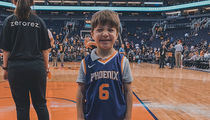 Viral Pizza Party Kid Gets VIP Treatment at Phoenix Suns Game