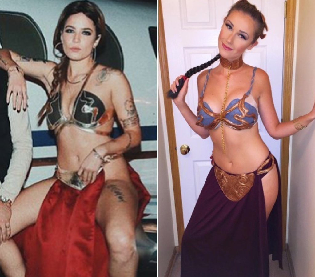 Halsey (24) vs. Noelle Foley (24) -- Princess Leia Edition