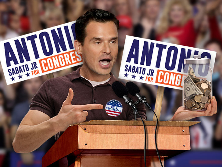 Antonio Sabato Jr.'s congressional campaign is loaded with financial woes.