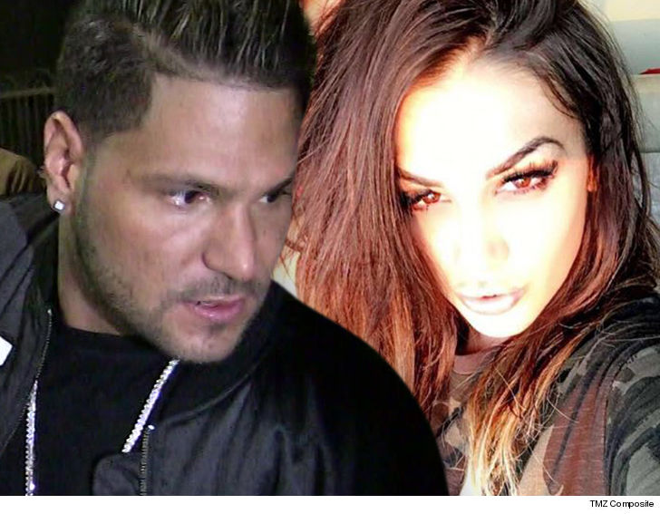 cops called after ronnie ortiz magro and jen harley get in heated
