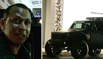 Alex Rodriguez Shows Off Pimped Out Jeep with Cigar Humidor
