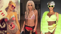 Stars Dressed As Stars -- Hollywood Is Seeing Double