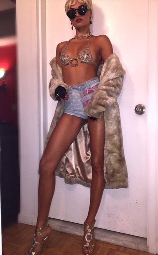 Shanina Shaik as Rihanna
