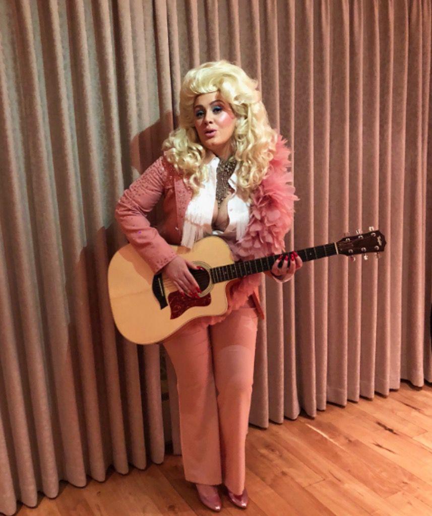 Adele as Dolly Parton