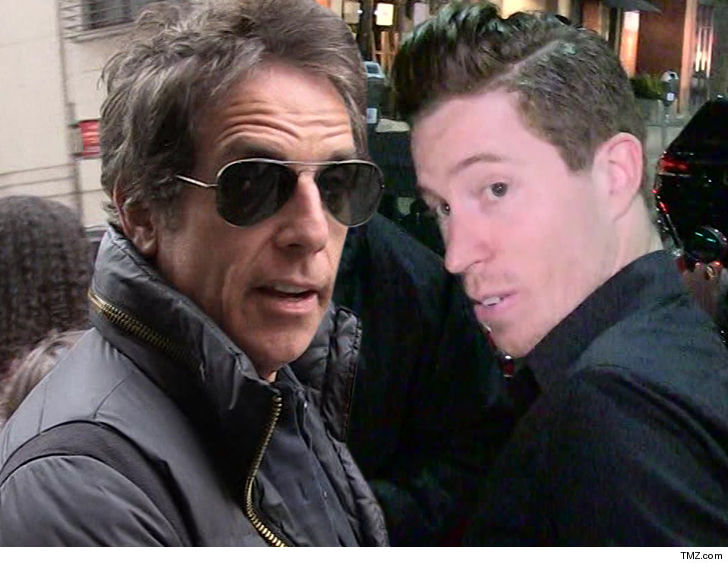 1  Ben Stiller Shaun White since apologized