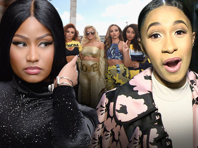 Cardi B Was Only Approached by Little Mix Because Nicki Minaj Stalled