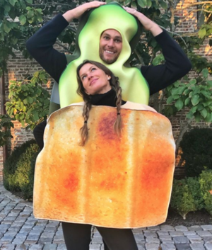 Tom Brady and Gisele Bundchen's Crazy Costumes