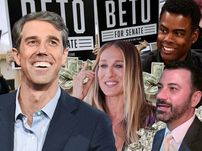 Beto O'Rourke Raking in Campaign Donations From Celebrities