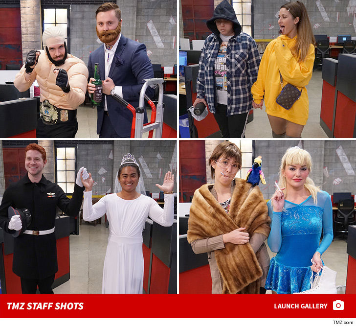 TMZ's Halloween 2018 Dynamic Duo Costumes Kill It ... Guess Who?!!!