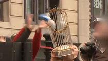 Boston Red Sox World Series Trophy Damaged at Championship Parade