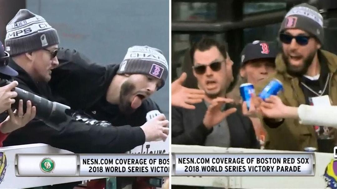 cbcc87169 Boston Red Sox World Series Trophy Damaged at Championship Parade ...