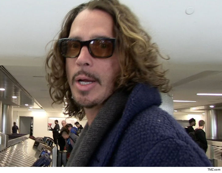 Singer Chris Cornell's Widow Sues Doctor, Alleging Malpractice