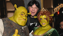 Heidi Klum Rocks Insane 'Shrek' Costume In Front of Mike Myers!
