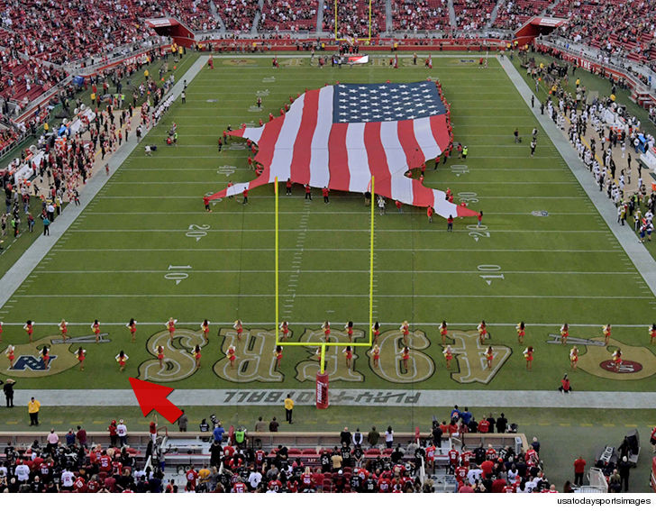 Kaepernick's Legacy: 49ers Cheerleader Takes A Historic Knee During National Anthem