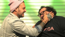 'Too Stupid To Die' Stars Slap Each Other with Thumbtacks Taped to Hands