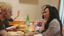 Demi Lovato Holding Hands with Clothing Guru at Restaurant and Out of Rehab