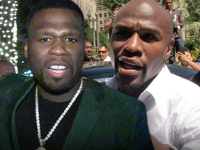 50 Cent Rips Floyd Mayweather's New Fight, 'Champ Fighting a Uber Driver'