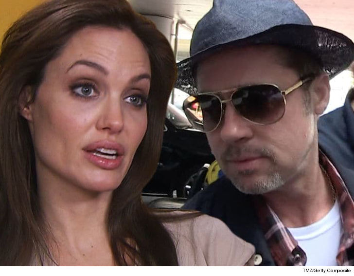Brad Pitt Reportedly Concerned Custody Battle Will 'Damage' Kids