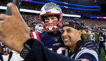 Tom Brady Celebrates World Series Win With Red Sox, Selfie Time!