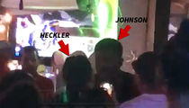 NFL's Andre Johnson Confronts Heckler Over Trash Talk In Bar