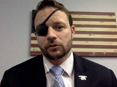 Dan Crenshaw Says Pete Davidson's 'SNL' Joke May Help in Midterm Election