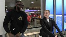 Deontay Wilder Gets Flossing Lesson From Backpack Kid, New KO Dance?