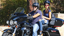 George Clooney Donating Harley Davidson to Help Vets