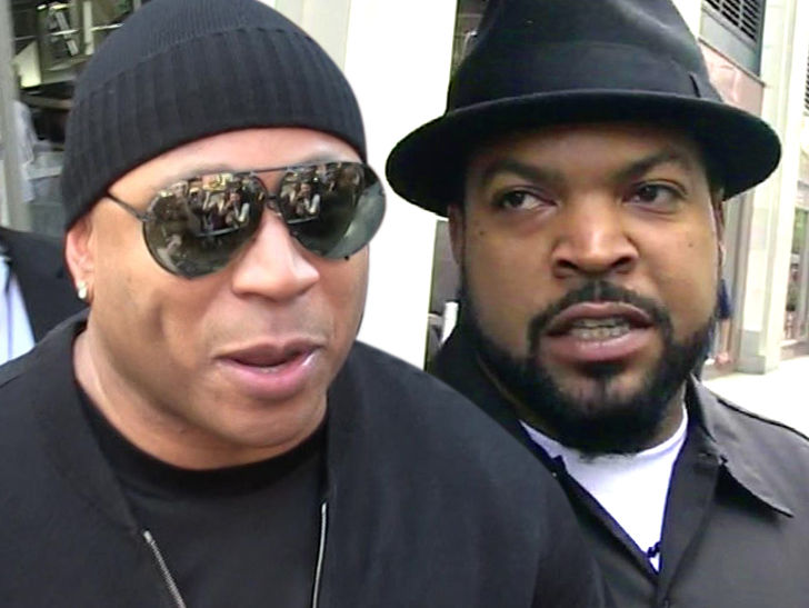 LL Cool J and Ice Cube on the same team?