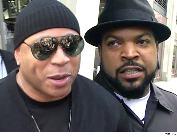 Superbe LL Cool J And Ice Cube Are Joining Forces    But It Ainu0027t About Music, Itu0027s  About Sports TV Domination.