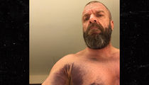 Triple H Reveals Gnarly Injury Pic After Tearing Chest Muscle