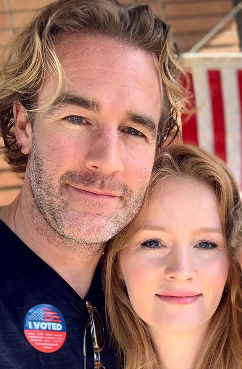 James Van Der Beek and Kimberly Van Der Beek