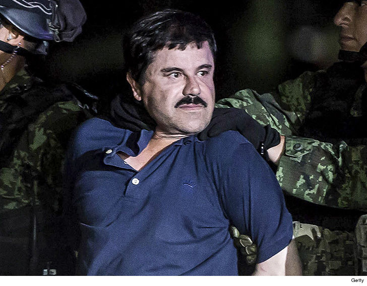 El Chapo says all he wants is a hug from his wife