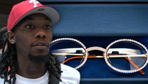 Offset Drops $100,000 on Custom Diamond Chains and Cartier Glasses