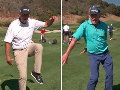 Old PGA Golfers Butcher Fortnite Dance Moves