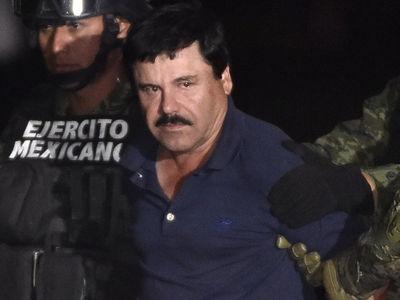 Judge Denies El Chapo's Request to Hug His Wife in Court