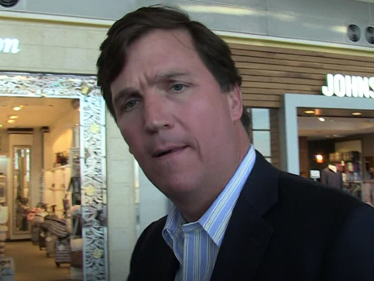 Mob Descends on Tucker Carlson's D.C. Home, Wife Calls Cops
