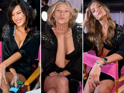 Victoria's Secret Fashion Show, Behind the Scenes Angles of the Angels