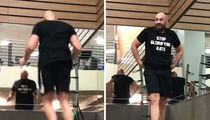 Tyson Fury Busting His Ass for Deontay Wilder Fight at Bougie L.A. Gym