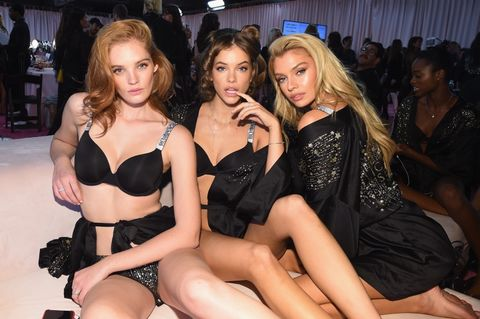 Alexina Graham, Barbara Palvin and Stella Maxwell