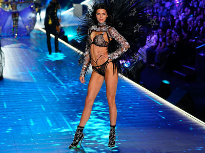 Victoria's Secret Angels Hit the Runway During Fashion Show