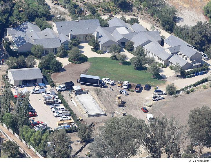 Image result for Kim & Kanye's Mansion in malibu