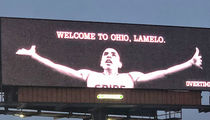 LaMelo Ball Gets LeBron Treatment with Billboard, 'Welcome to Ohio!!'