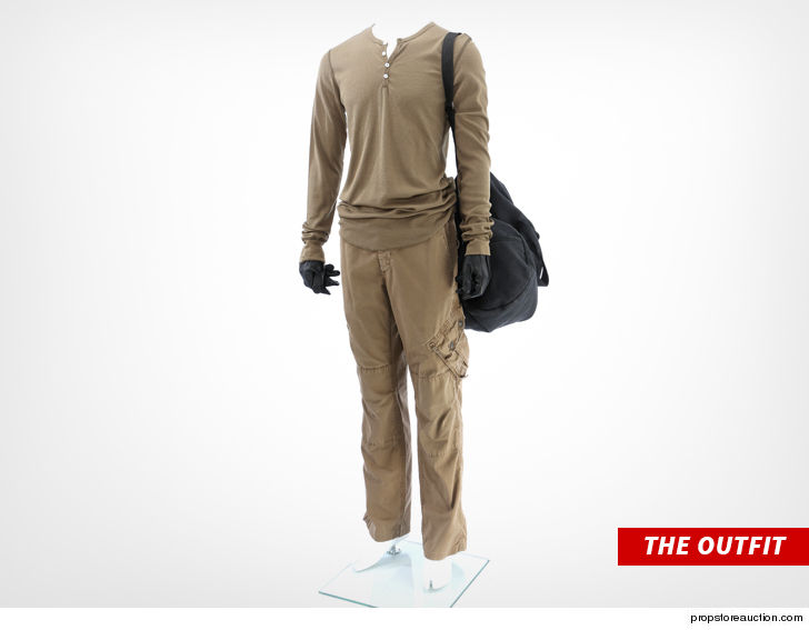 """Michael C. Hall's stalker outfit from """"Dexter"""" is heading to auction, along with some historic """"Star Trek"""" memorabilia."""